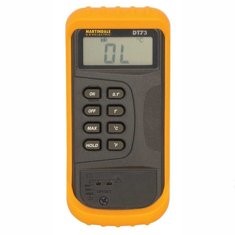 Martindale DT73 K Type Digital Thermometer