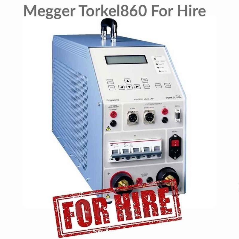 Megger Torkel 860 For Hire