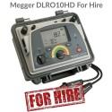 Megger DLRO10HD For Hire