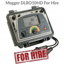 Megger DLRO10HD For Hire