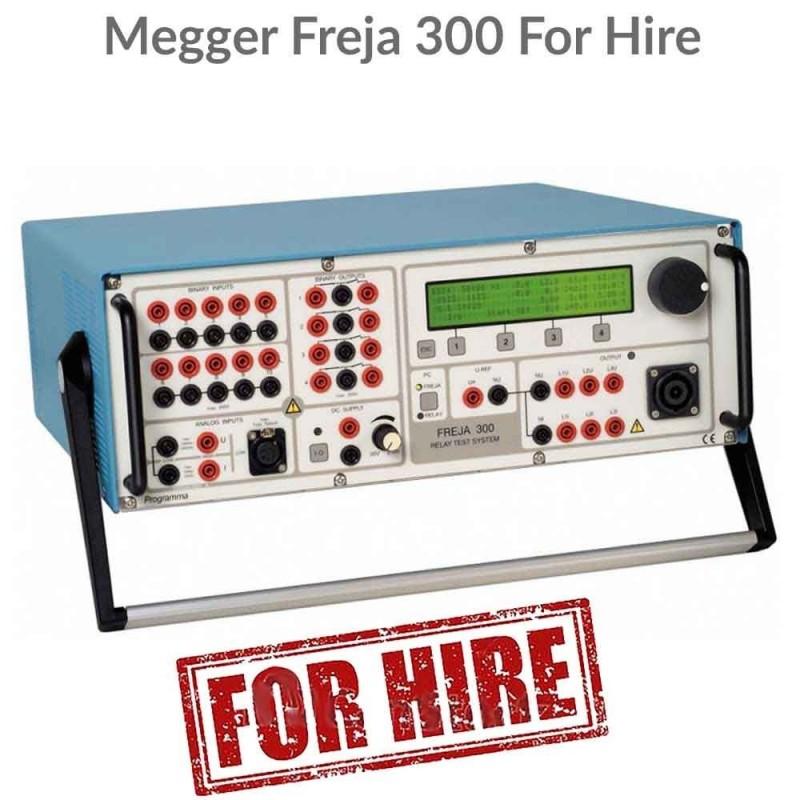 Megger Freja 300 For Hire