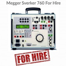 Megger Sverker 760 For Hire