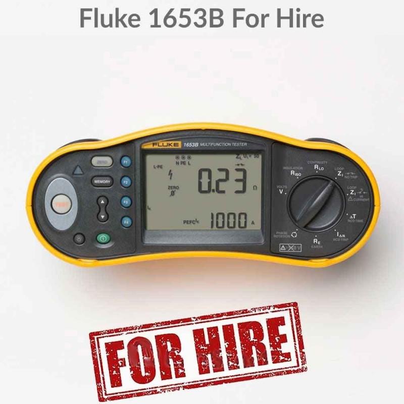 Fluke 1653B Installation Tester For Hire
