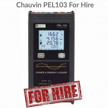 Chauvin Arnoux PEL103 C/W Notebook For Hire