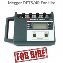 Megger DET5/4R Earth Tester For Hire
