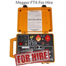 Megger FT4 Flash Tester For Hire
