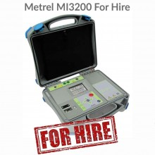 Metrel MI 3200 For Hire