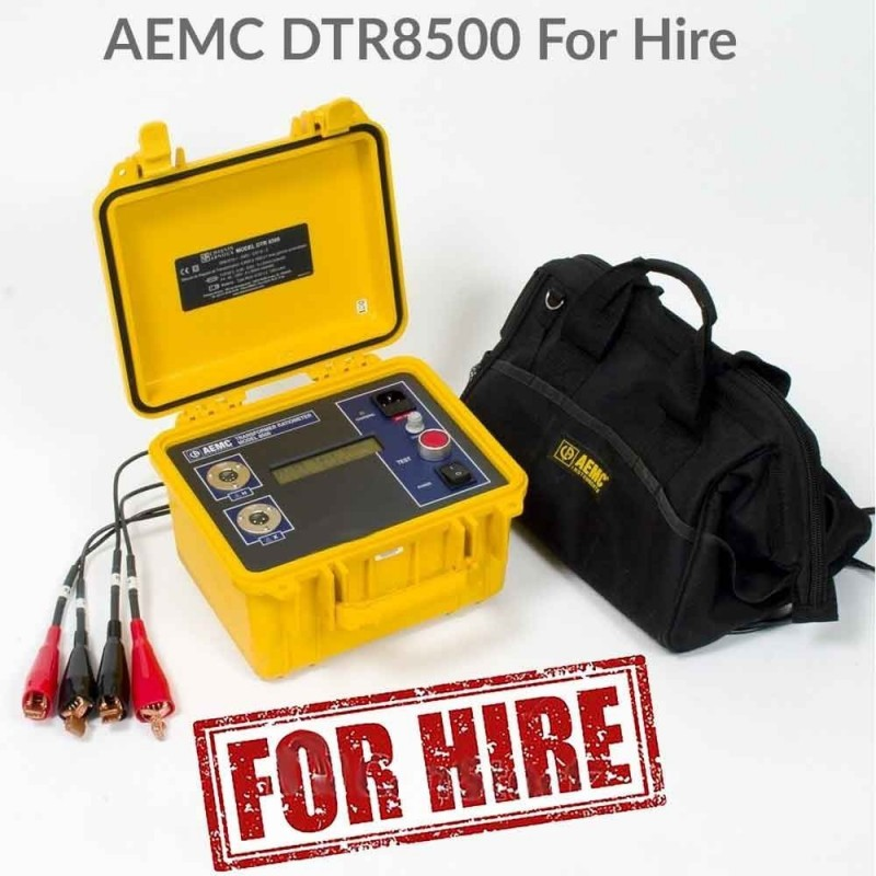 AEMC DTR8500 Transformer Ratiometer For Hire