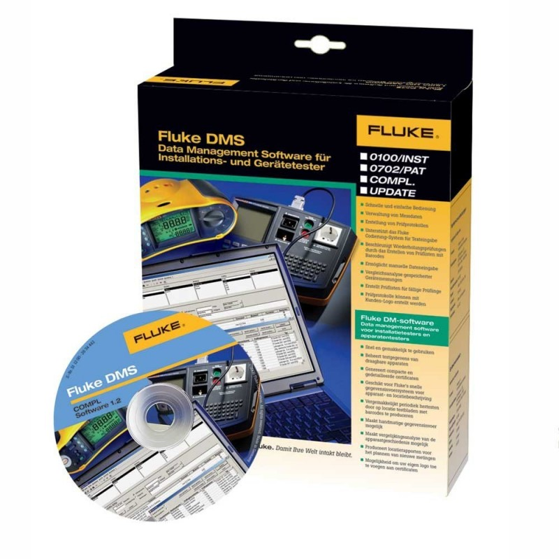 FLUKE DMS 0702/PAT Software