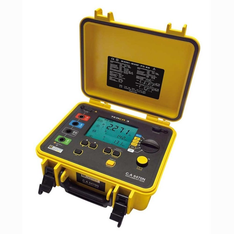 Chauvin C.A 6470N TERCA 3 Earth and Resistivity Tester