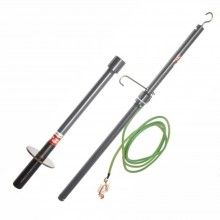 Megger 222070-62 High-voltage Discharge and Grounding Stick