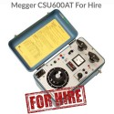 Megger CSU600AT For Hire