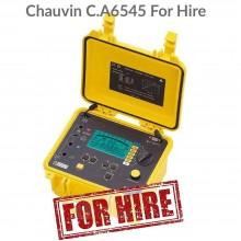Chauvin Arnoux CA 6545 Hire