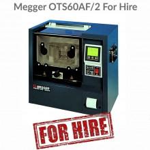 Megger OTS60AF/2 Oil Tester Hire