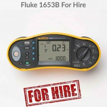 Fluke 1653B Installation Tester For Hire