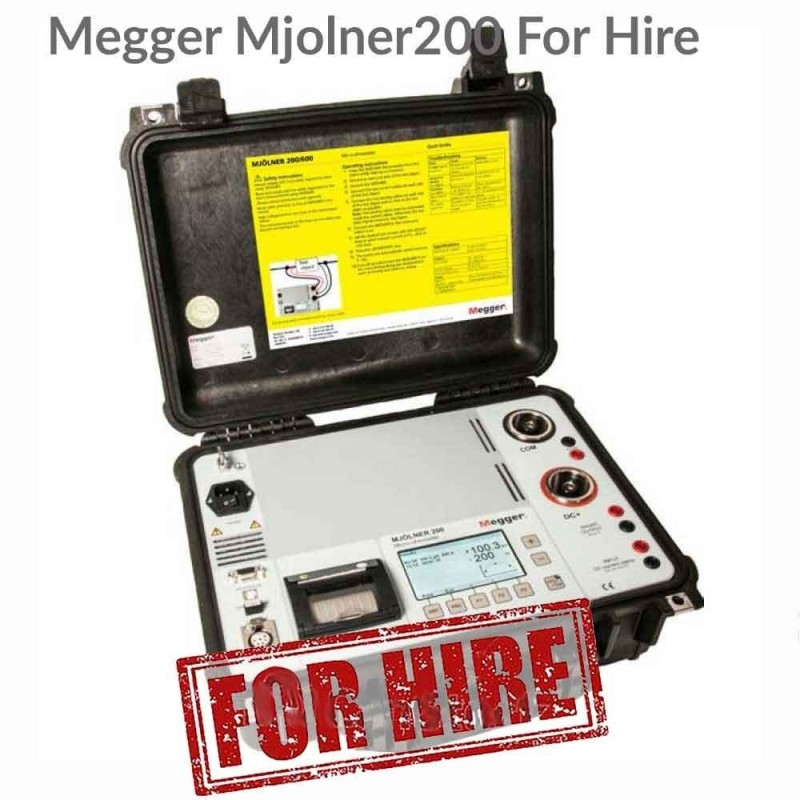 Megger MJOLNER 200 For Hire