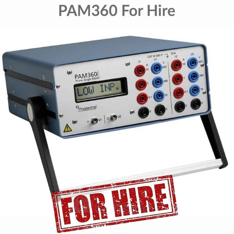 Programma PAM360 For Hire