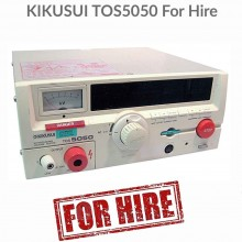 Kikusui TOS5050 5kV Flash Tester For Hire