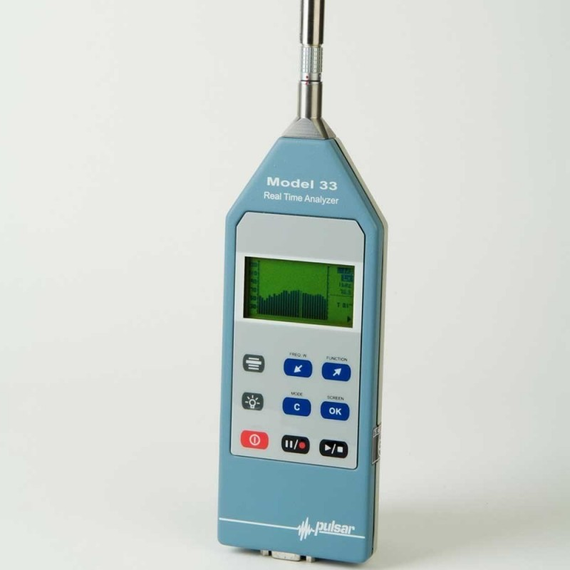 Pulsar Model 33 Real Time Analyser