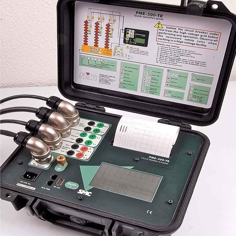 Megger Ms 2a Circuit Breaker Overcurrent Relay Test Set 230 Continuity Tester Diagram Smc Pme 500 Tr Power Analyser