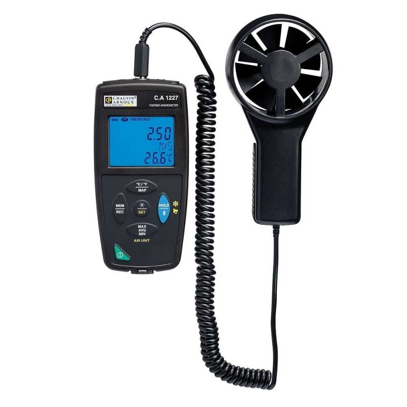 Chauvin C.A 1227 Thermo-anemometer
