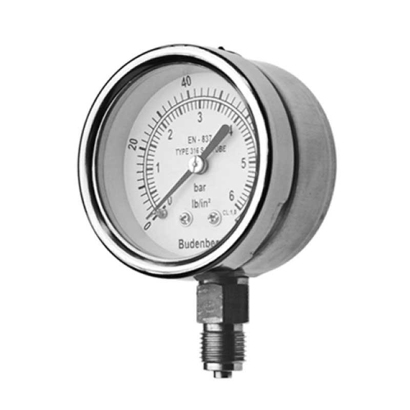 Budenberg Model 726 63mm Pressure Gauge
