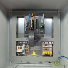Blackbox Protective Metal Cabinet with Wiring