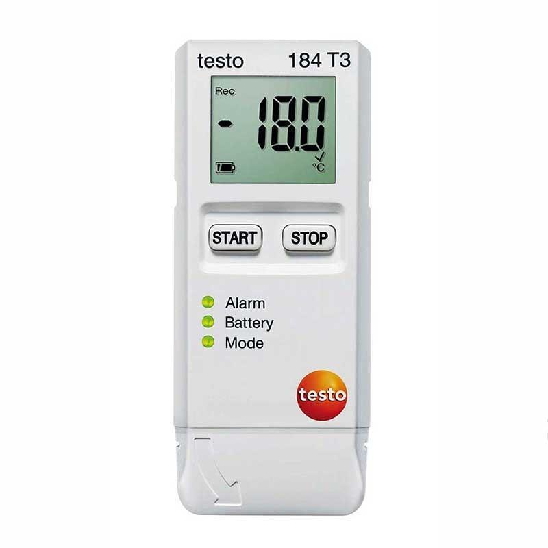Testo 184 T3 Temperature USB Transport Data Logger