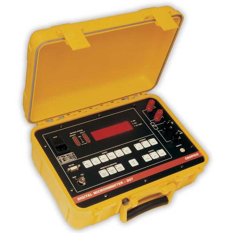 Cropico DO7 Portable Micro-Ohmmeter