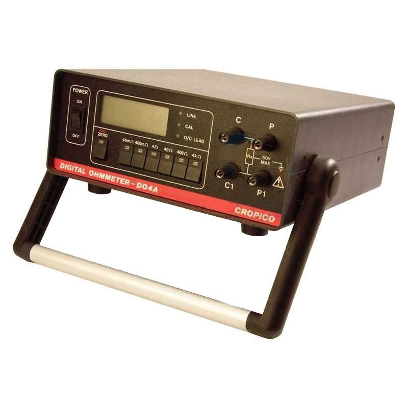 Cropico DO4A Portable Milliohmmeter