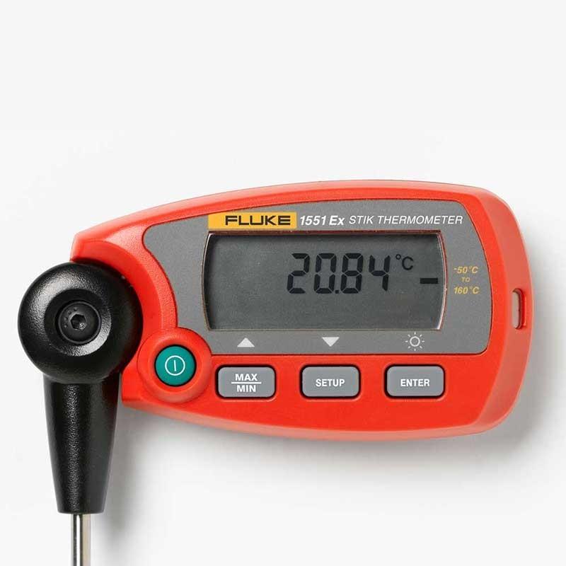 Fluke 1551A Ex 'Stik' Thermometer