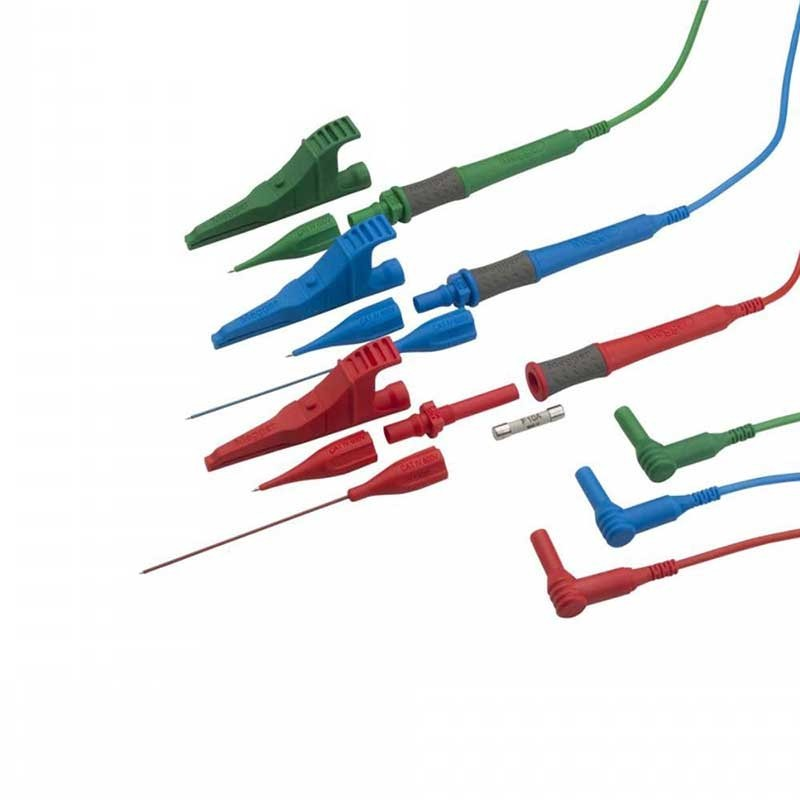 Megger 1001-975 Three Wire Fused Test Lead Set