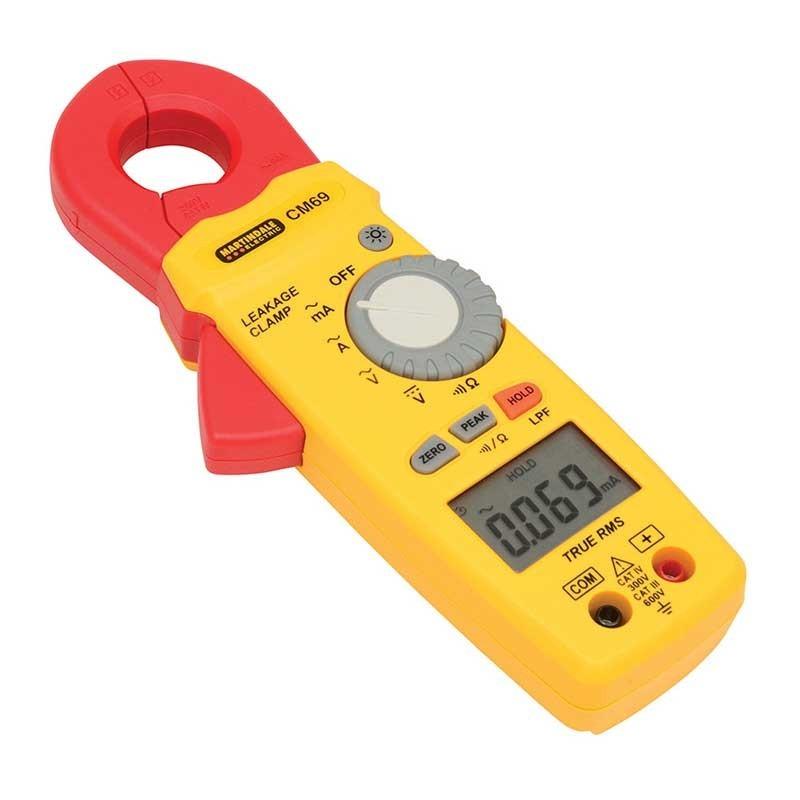 Martindale CM69 AC TRMS Earth Leakage Clamp Meter | Martindale MARCM69