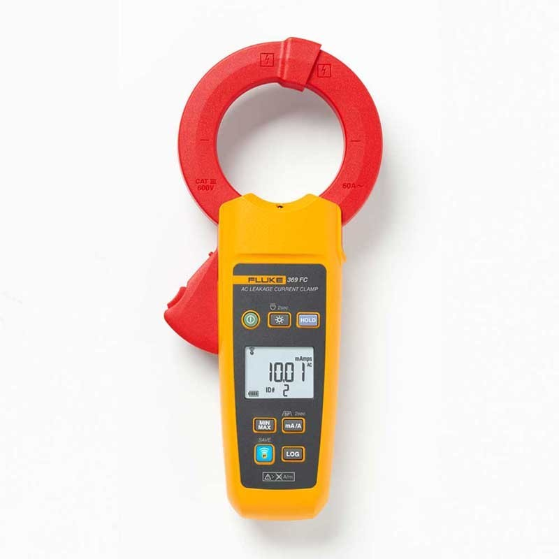 Fluke 369 FC True-rms Leakage Current Clamp Meter