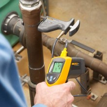 Fluke 80PK-8 Pipe Clamp Temperature Probe
