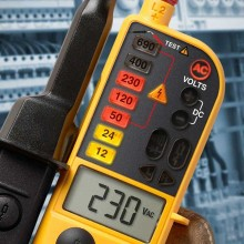 Fluke T150 Voltage/Continuity Tester With Switchable Load
