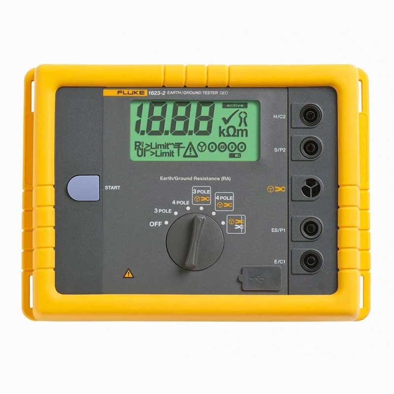 Fluke 1623-2 Basic GEO Earth Ground Tester Kit