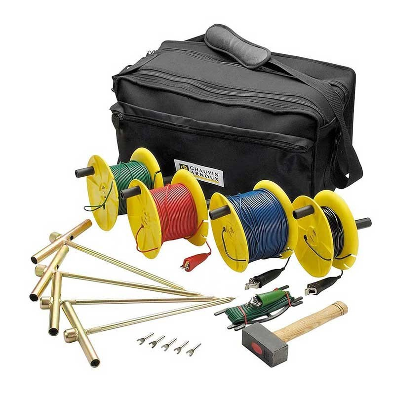 Chauvin Earth and Resistivity Kit 150m