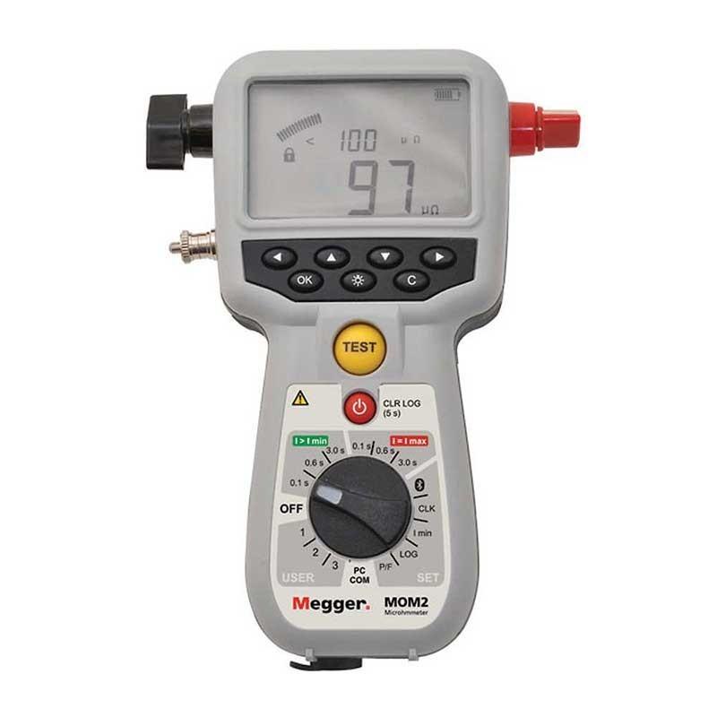 Megger MOM2 Micro-ohmmeter