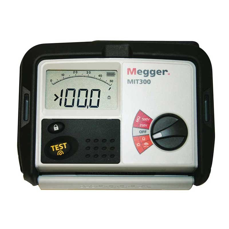 Megger Mit300 Insulation Amp Continuity Tester Megger Mit 300