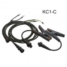 Megger KC1-C Connect Duplex Kelvin Clip Lead Set