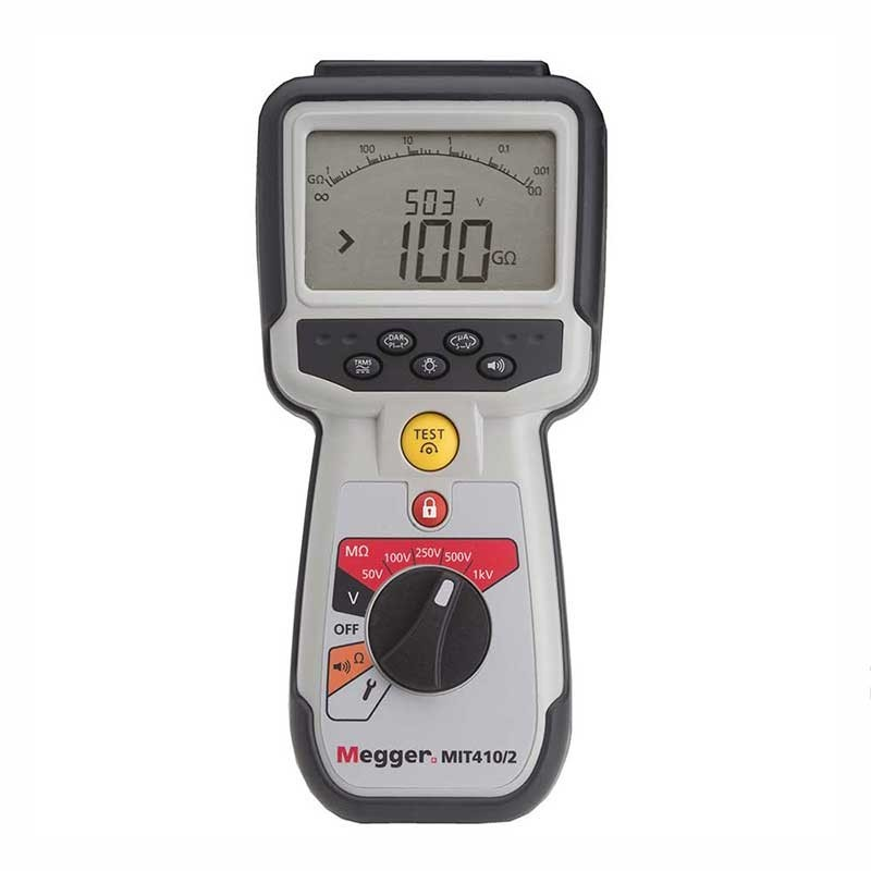 Megger MIT410/2 Insulation and Continuity Tester