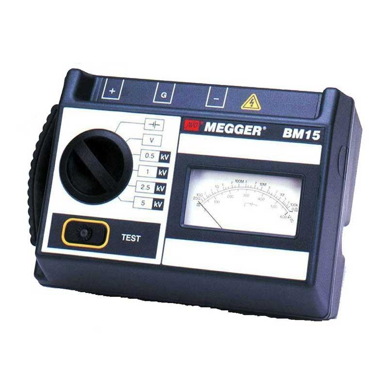 Megger BM15 Analogue 5kV Insulation Tester