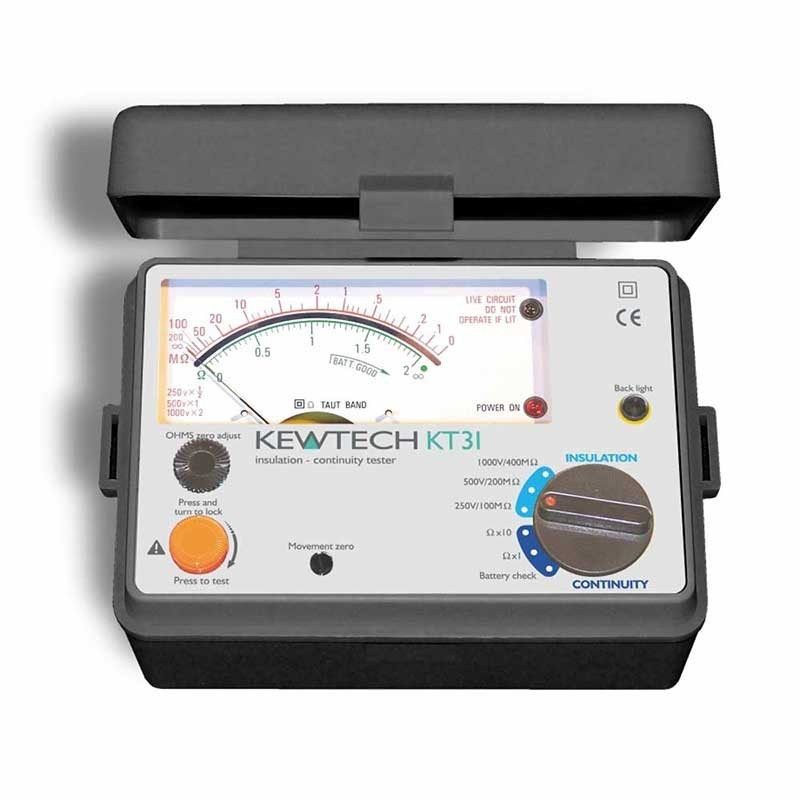 Kewtech KT31 Analogue Insulation Tester
