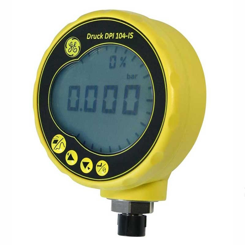 Druck DPI 104 0-2 Bar Intrinsically Safe Digital Test Gauge