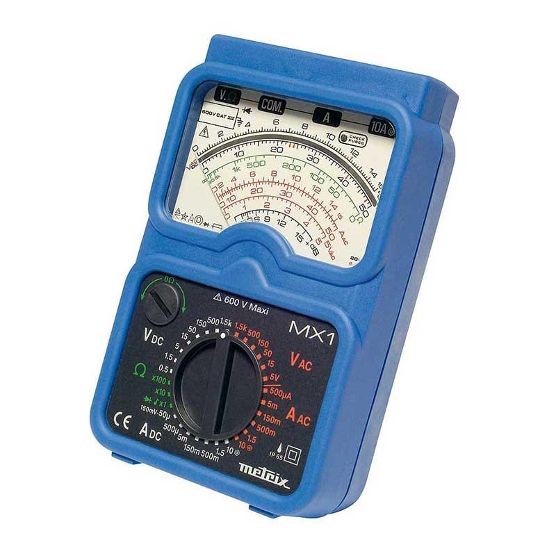 Metrix MX1 Analogue Multimeter in Case