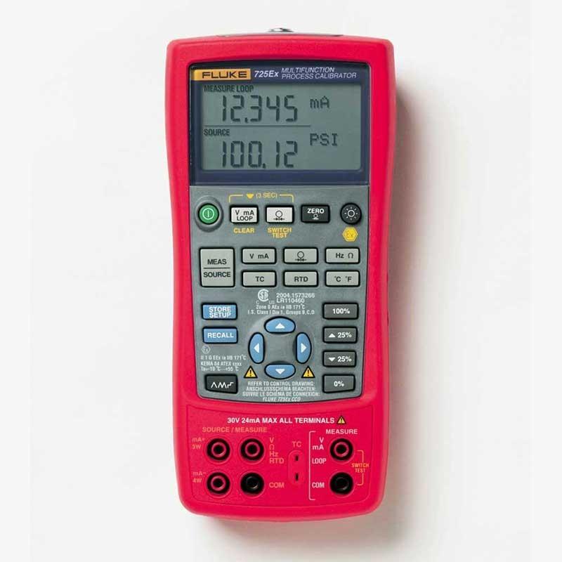 Fluke 725Ex Intrinsically Safe Process Calibrator