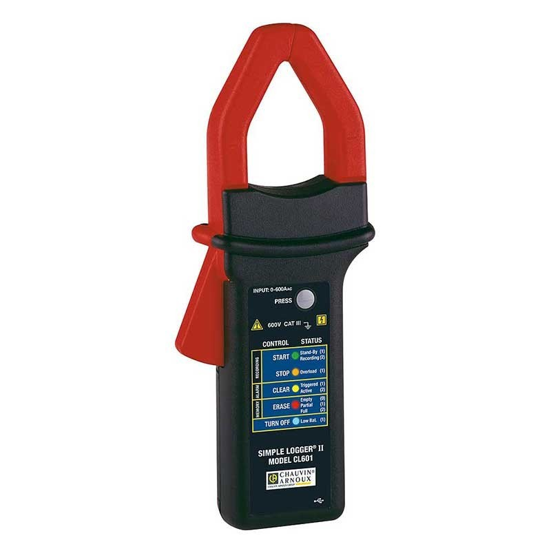 Chauvin CL601 Clamp Logger