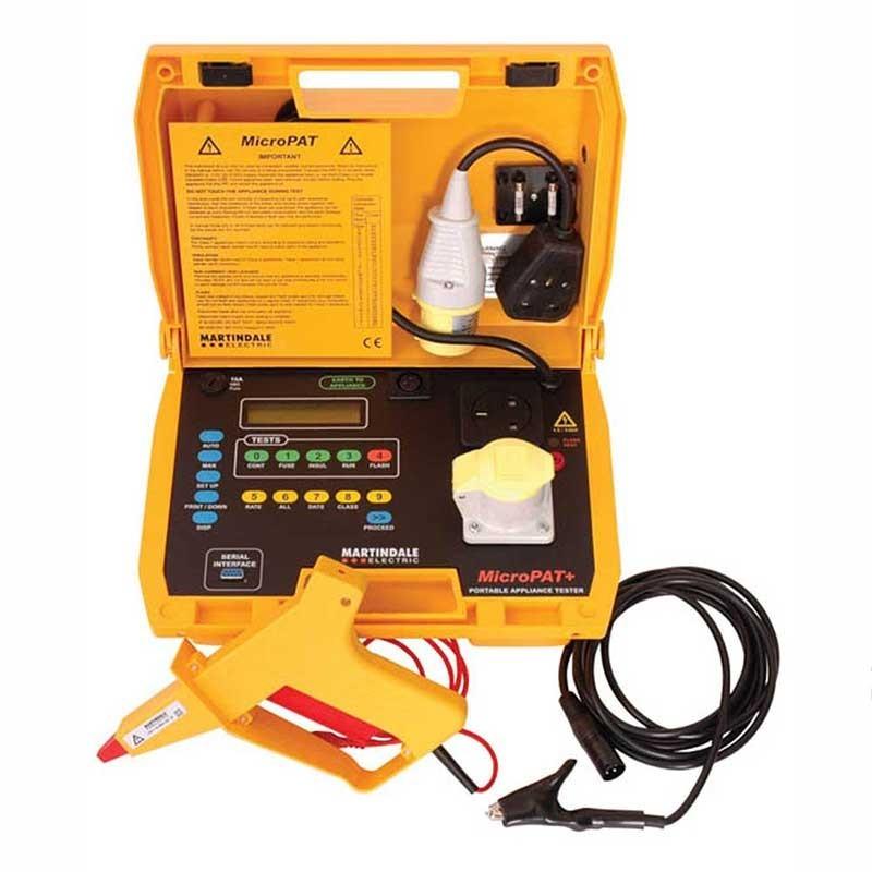 Martindale MicroPat Plus Dual Voltage PAT Tester