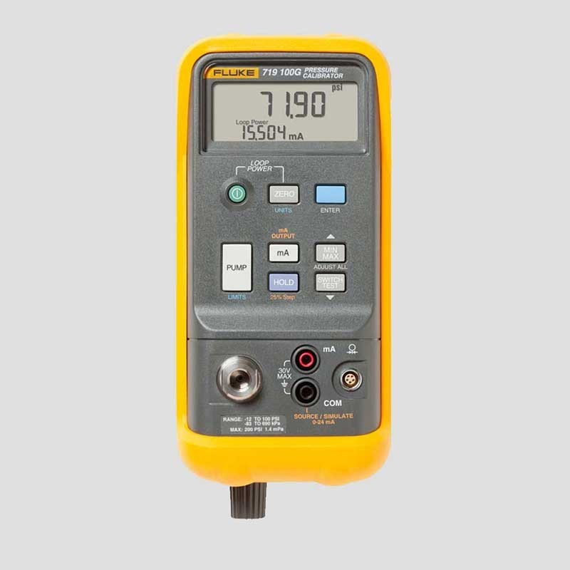 Fluke 719-100G Electric Pressure Calibrator